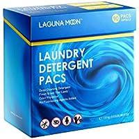 Lagunamoon 3en1 Detergente en Cápsulas para Lavadora, Protección del Color y Suavizante ...