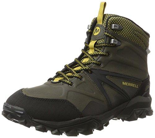 <span class='b_prefix'></span> Merrell Men's Capra Glacial Ice+ Mid Waterproof High Rise Hiking Boots