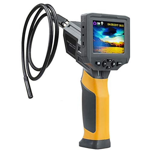 wangt Handinspektionskamera Halbstarres Kabelendoskop HD IP67 Wateproof Snake Camera-für Die Industrielle Sanitärreparatur,8.5mm(A)-2M Hd-snake Boots