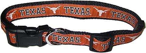 Pets Erste Collegiate Texas Longhorns Pet Halsband,
