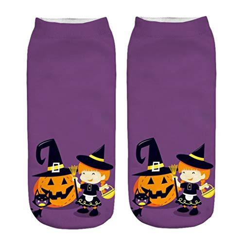 Känguru Maskottchen Kostüm - INLLADDY Costume Socken Kürbis Print Halloween Cosplay Deko Up Kostüm mittlere Größe C1 20-22cm