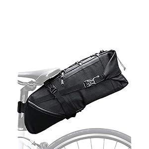 Lixada Bolsa de Sillín para Bicicleta 3-10 L Impermeable Bolsa Trasera Bicicleta Alforjas para Ciclismo MTB Bicicleta de Montaña