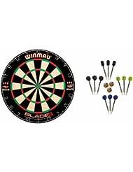 Winmau Blade 4 Dartboard + McDart Steeldarts
