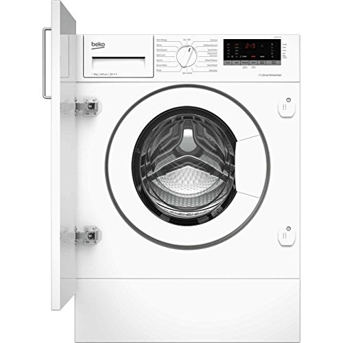 Beko WIR86540F1 Built-In A+++ Rated Washing Machine in White