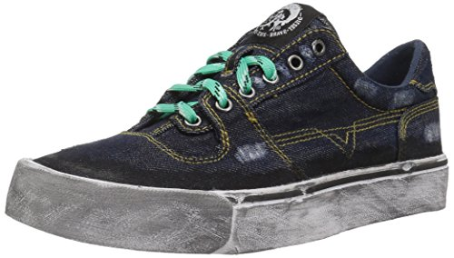 Diesel s-flip low, scarpe da ginnastica basse uomo, multicolore (multicolour t6067), 43 eu