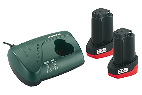 Metabo 685066000 Basic-Set 10,8V 2x2.0 Ah, 10.8 V
