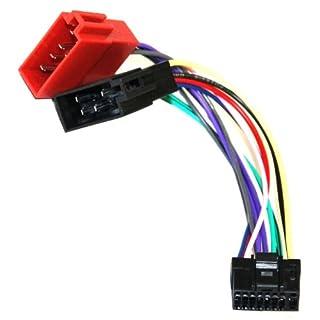Aerzetix-Aa1 Adapter Cable Converter ISO Radio Cable Radio Adapter Jack ISO Cable Lead for Alpine CDA 7873 Back Plate R CDA 7876 RB CDA 7893 R CDA 7894 RB CDA 9807 CDA 9812 RB CDA 9812 RR CDA 9815 CDA 9833 9853 R CDA WMA or CDA 9855 CDA 105Ri CDA 9885 CDA 9886R CDA 9887R CDA 117Ri CDE 7854 R
