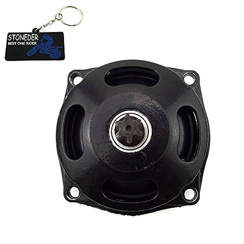 Stoneder 25H 6dents tambour d'embrayage Boîte de vitesses pour moteur 2temps 47cc 49cc MINIMOTO Mini Pocket bike enfants Quad ATV Buggy Go Kart