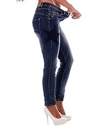 Damen Jeans Grosse Groessen Baggy Style Curvy Stylisch Star