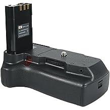 DSTE - Batería para empuñadura de cámaras Nikon D40, D40X, D60, D3000 y D5000 (incluye control remoto, equivalente a MB-D5000)
