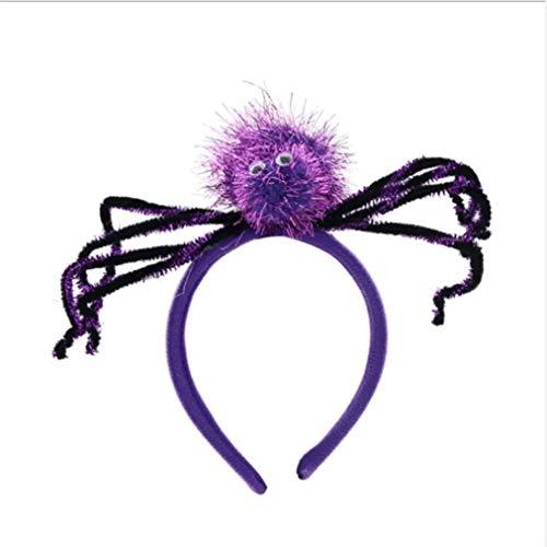 nband Halloween Kostüm Stirnband für Kostüm verkleiden sich Party Supplies, lila ()