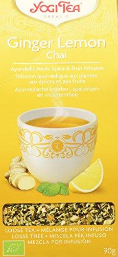 Yogi Tea Infusión de Hierbas Ginger Lemon - 90 gr