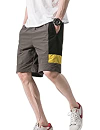 Mens Chino Shorts Cropped Pants Sport Jogging Pockets Casual Wear XS-XXL