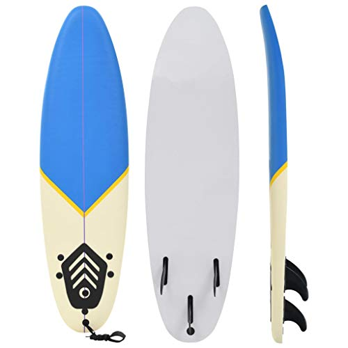 vidaXL Surfbrett 170cm 3mm Shortboard Surfboard Stand Up Board Wellenreiter