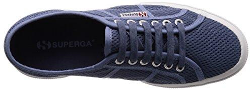 Superga Unisex-Erwachsene 2750-Meshu Sneaker Blau (Blue)