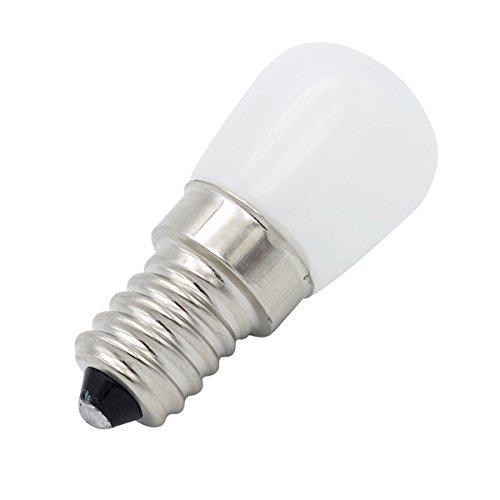 Phigoning 8 Stück LED Kühlschrank Birne Lampe Leuchtmittel E14 3W COB LED Lampe Licht Warmweiß AC220-240V