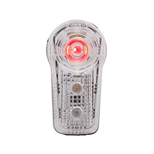 Planet Bike 3034–1Blinky Rücklicht Superflash 0,5Watt LED mit 2rot LED Rücklicht (schwarz/transparent Fall) (Planet Rücklicht Bike)