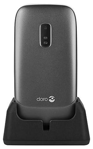 Doro Phoneeasy 6030 Téléphone Mobile Clapet Actif Blanc et