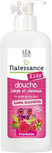 Kids Bio Shampooing Douche Framboise 500 Ml
