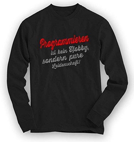 Programmieren Sweatshirt | Programmier-Pullover | Hobby | Leidenschaft | Unisex | Sweatshirts Schwarz