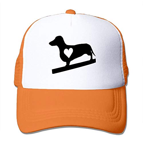 Apparel Accessories Men Women Baseball Caps Mesh Back I Love My Dachshund Dog Hat Caps Hip Hop Hat