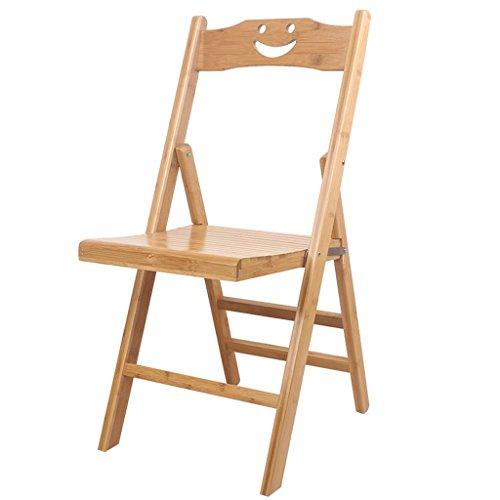 Bambus Set Klappstuhl (Klappstuhl Haushalt Bambus Set für Indoor & Outdoor-Aktivitäten Inneneinrichtung (größe : Kleine))