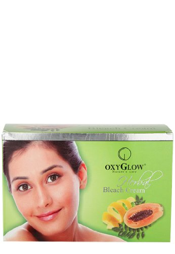 Oxyglow Herbal Bleach Cream, 240g  available at amazon for Rs.194