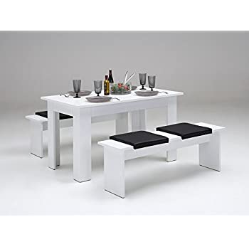 Tischgruppe Mit Bank Und 4Xklemmkissen Esstisch Esszimmer Tisch