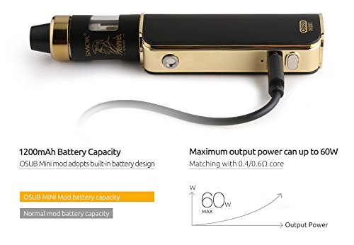 Smok OSUB Mini Starter Kit 60W silber