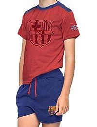 Pijama Adulto FC Barcelona-BARÇA Manga Corta