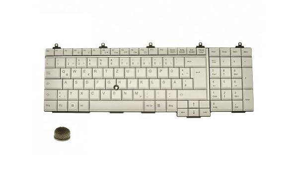 wei/ß mit Mouse-Stick und Numpad IPC-Computer Fujitsu Celsius H720 Original Tastatur DE deutsch