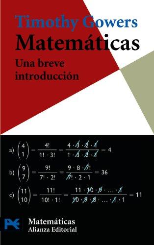 Matemáticas: una breve introducción (El Libro De Bolsillo - Ciencias)