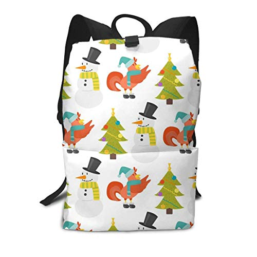 Homebe Tasche mit Hahnen-Motiv, weihnachtliches Design, für