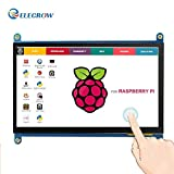 Monitor Display Anzeigen IPS Bildschirm-7 Zoll 1024X600 HD TFT LCD mit Touchscreen f�r Himbeere Raspberry Pi B + / 2B Raspberry Pi 3 Windows 10/8.1/8/7 medium image