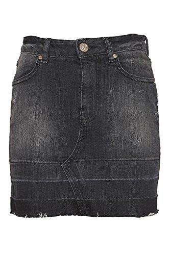 COST:BART Mädchen Rock Jeansrock Almira, grau 963 Gr.XL (176)