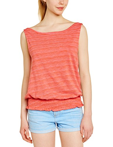 Roxy Damen Strickshirt Terra Mar J KTTP, Rosa-Pink (Bubble Gum Bar Ikat Stripe), L, ARJKT03095-MHY3 (Shirt Bar Stripe)