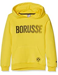 Puma Kinder Bvb Graphic Hoody Pullover