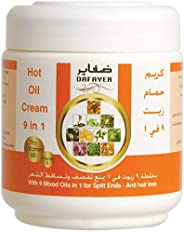 Dafayer Hot Oil Cream 9 Mixed Oils (9 in 1) For All Hair Types 250 mg