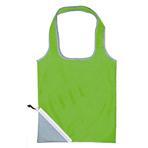 Einkaufstasche Nylon Schultertasche - Faltbar Grün