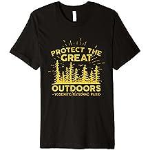 Yosemite National Park Schützen der Natur T-Shirt
