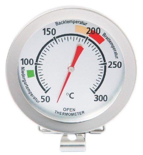 Sunartis 1-5009 T720DH Backofenthermometer mit Angabe der Niedergar-, Back- und Brattemperatur