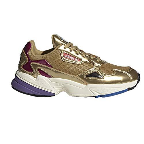 adidas Falcon W, Scarpe da Fitness Donna, Oro Dormet/Casbla 000, 39 1/3 EU