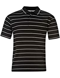 Days & Years Men's Cotton Polo T-Shirt - (Black/Grey)