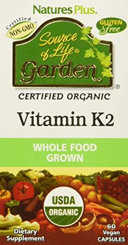 Natures Plus Garden Vitamin K2 120mcg , 60 Vcaps