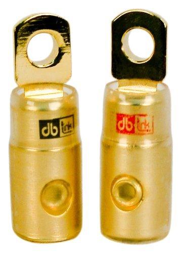 DB LINK 4-Gauge Gold Ring Terminal -