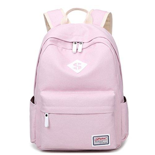 Lycéens en early girl de sac à dos de toile/Sac à vent Collège/sac de portable couleur pure fashion voyage-D A