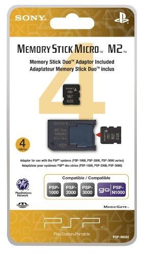 PSP Memory 4GB PRO Duo