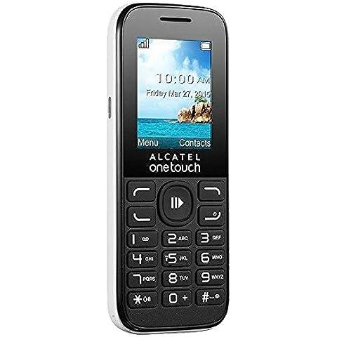Alcatel 1052D-3BALES1 - Teléfono móvil 2G, color blanco