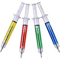 Zantec Spritze Kugelschreiber 4 Farbe Ink Blau Bulk-Neuheit Blut Spaß-Geschenk preisvergleich bei billige-tabletten.eu