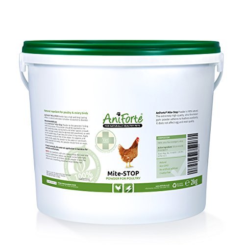 AniForte Mite Stop Powder mite control 2000 g - natural product for poultry and aviary birds Test